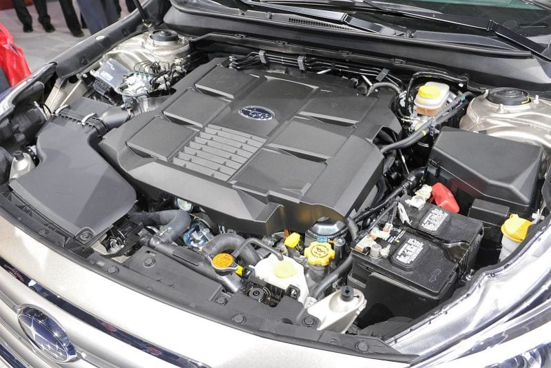 2016 Subaru Outback Turbo Engine