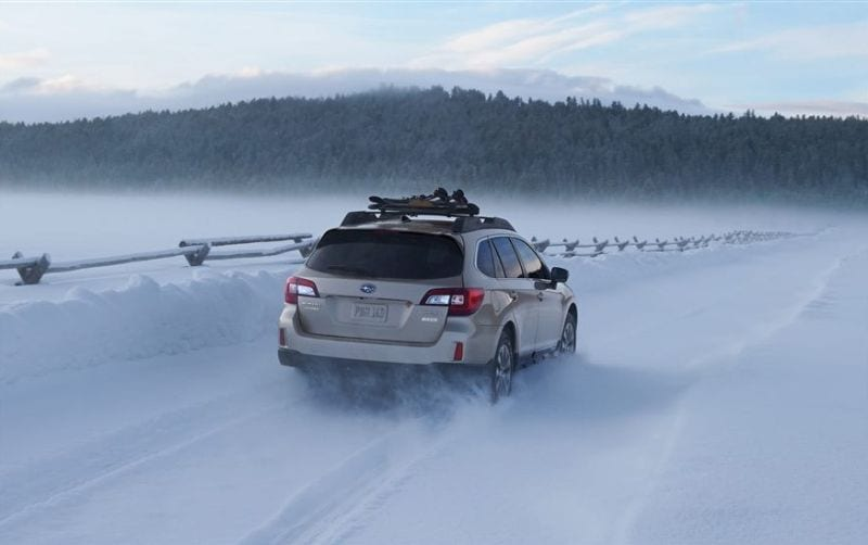 2016 Subaru Outback Turbo Winter