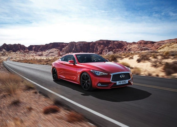 2017 Infiniti Q60 On the road