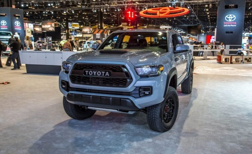 2017 toyota tacoma trd pro review price release date. Black Bedroom Furniture Sets. Home Design Ideas