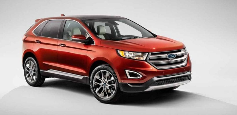 Ford Edge Very Quiet And Smooth Ride
