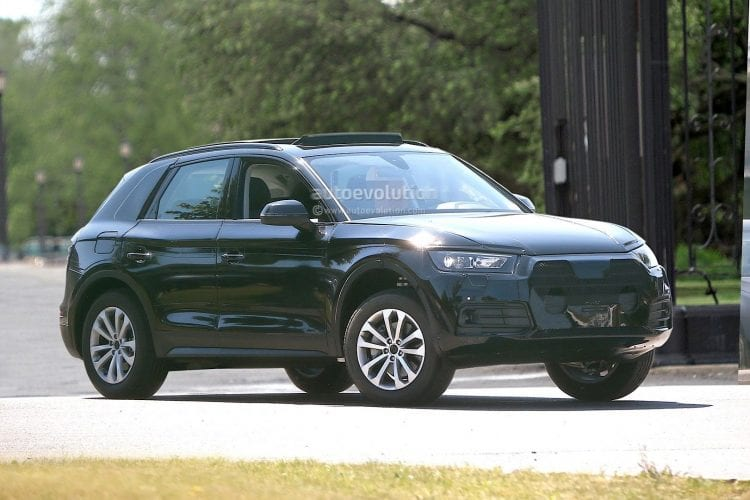 2017 Audi Q5 Spy Photos Price Release Date Review