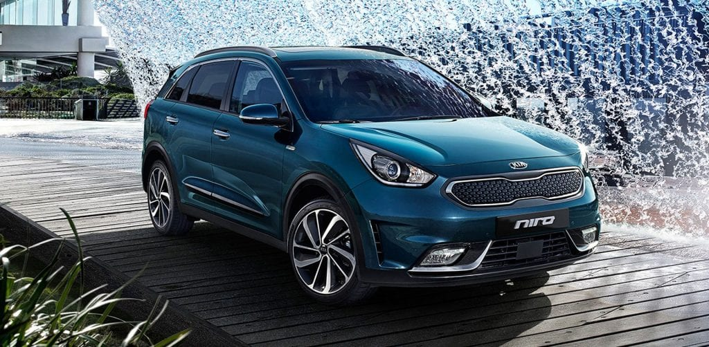 2017 kia niro interior review release date. Black Bedroom Furniture Sets. Home Design Ideas