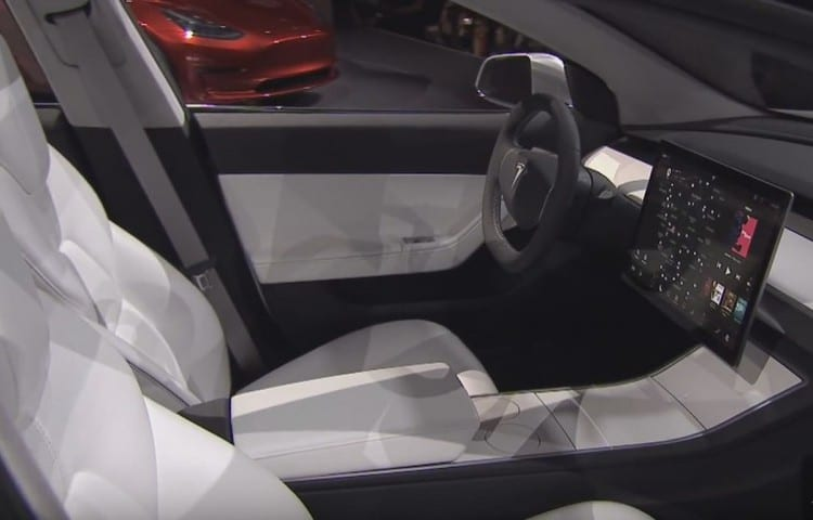 2017 tesla model 3 specs range review cars reviews carsoid. Black Bedroom Furniture Sets. Home Design Ideas