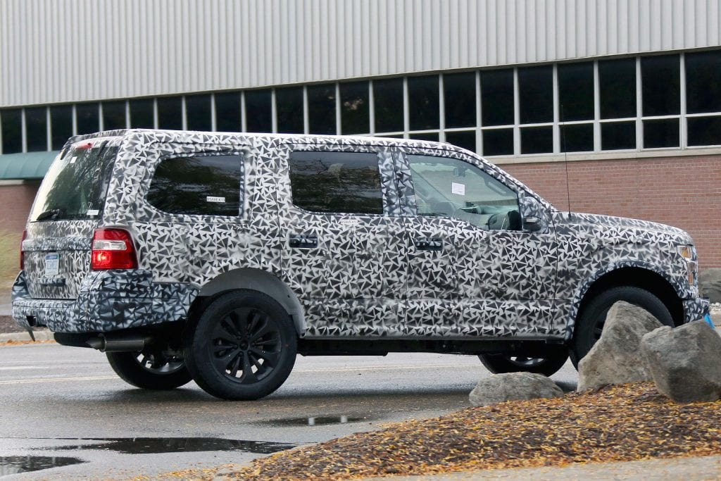 2018 Ford Expedition SUV - Spy Shots and Latest Ford Rumors