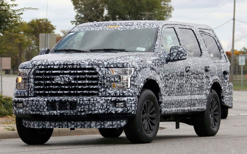 2018 ford suv. exellent ford spy shot 1 to 2018 ford suv