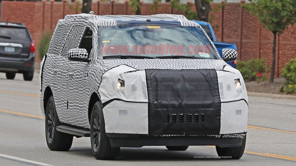ford expedition spy shots  latest ford rumors