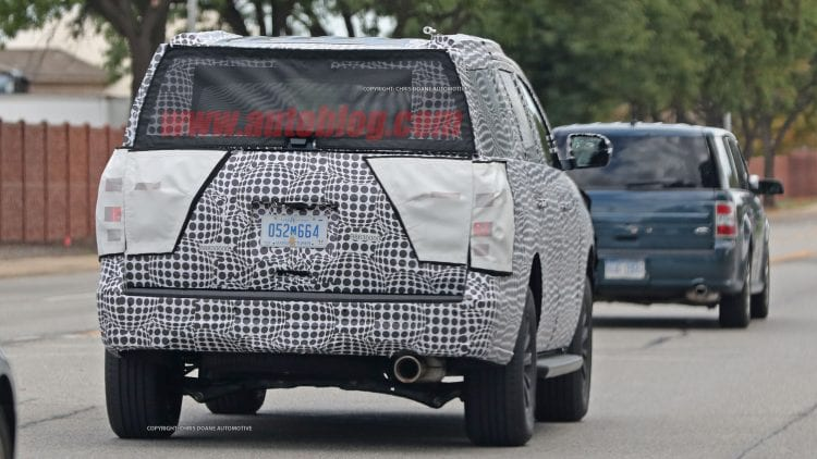 2018 Ford Expedition spy photo; Source: autoblog.com