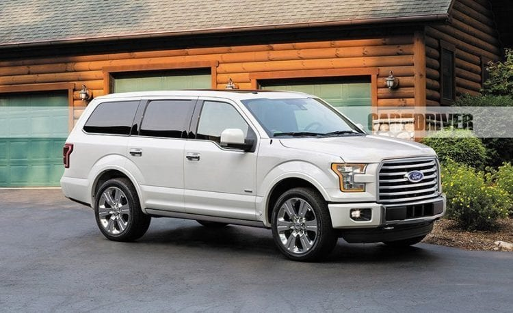 2018 Ford Expedition ilustration; Source: caranddriver.com