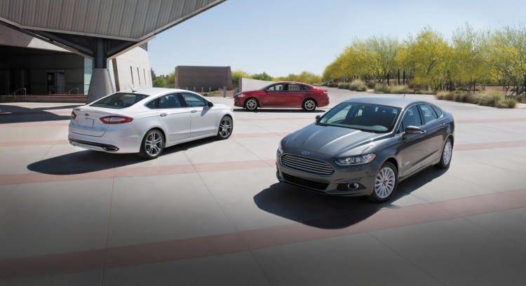 Ford Fusion Hybrid - Energi 1