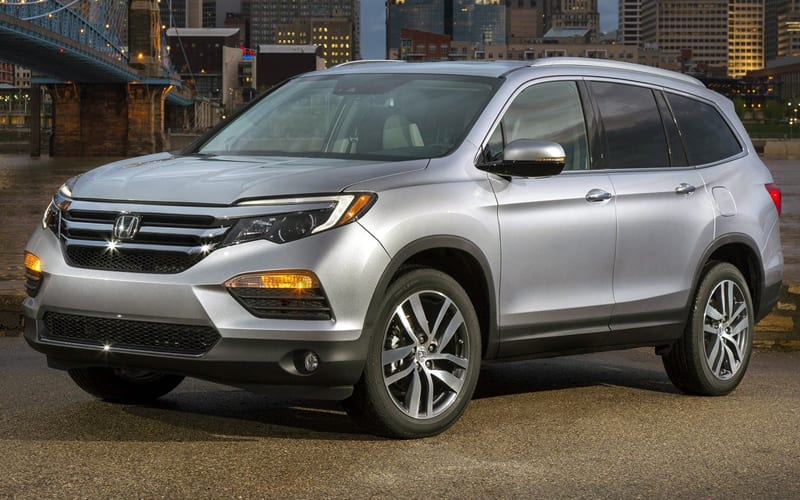 2017 Honda Pilot - third generation of the popular Honda SUV