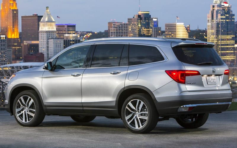 2017 Honda Pilot Third Generation Of The Popular Honda Suv