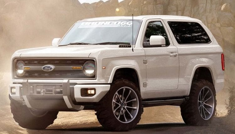2016 Ford Bronco Price >> Ford Bronco 2020 New Bronco Is Confirmed Release Date Price