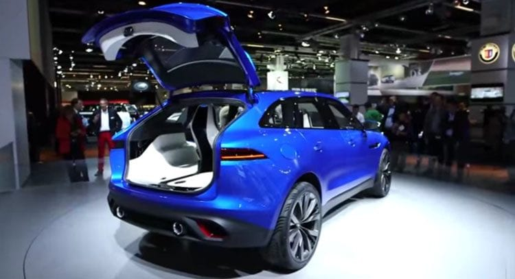 2016 Jaguar C-X17 Back