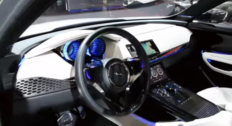 2016 Jaguar C-X17 Interior