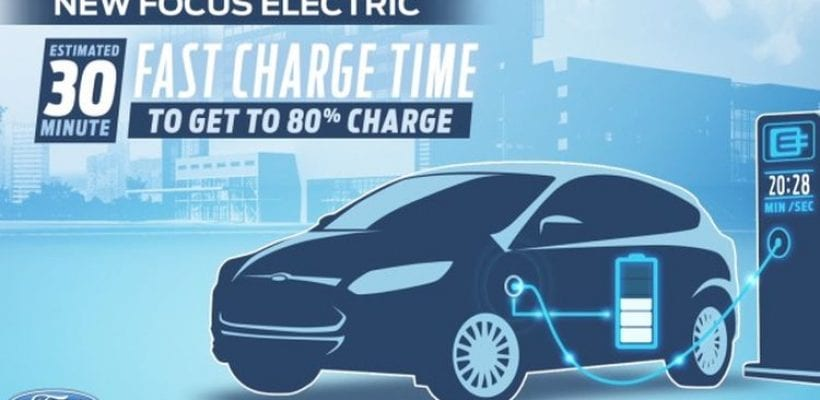2017 Ford Focus Electric Capable Of Traveling 100 Miles On A Full Charge