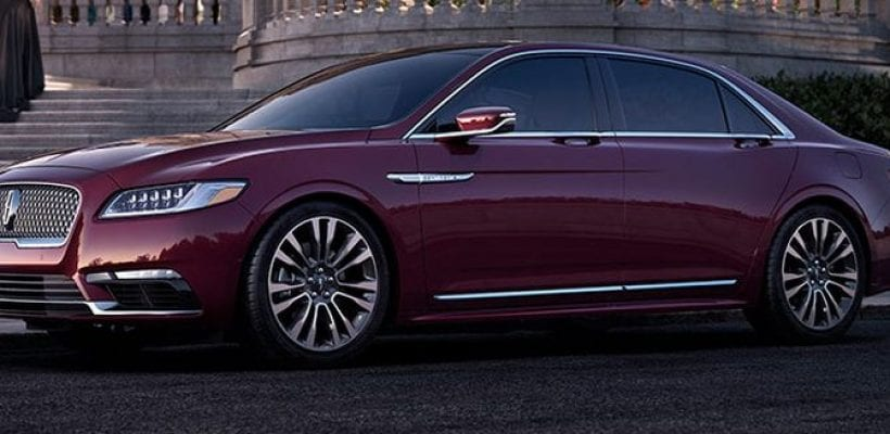 2017 Lincoln Continental Beautiful Luxury Sedan