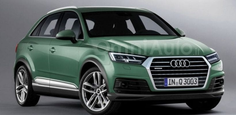 2018 audi q3 price specs release date spy photos. Black Bedroom Furniture Sets. Home Design Ideas