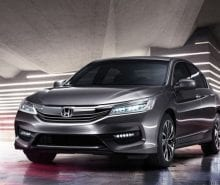 Honda Accord restyled for the Asian market