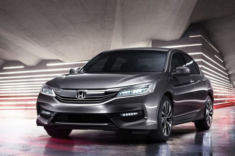 Honda accord restyled for the asian market for Honda accord base model