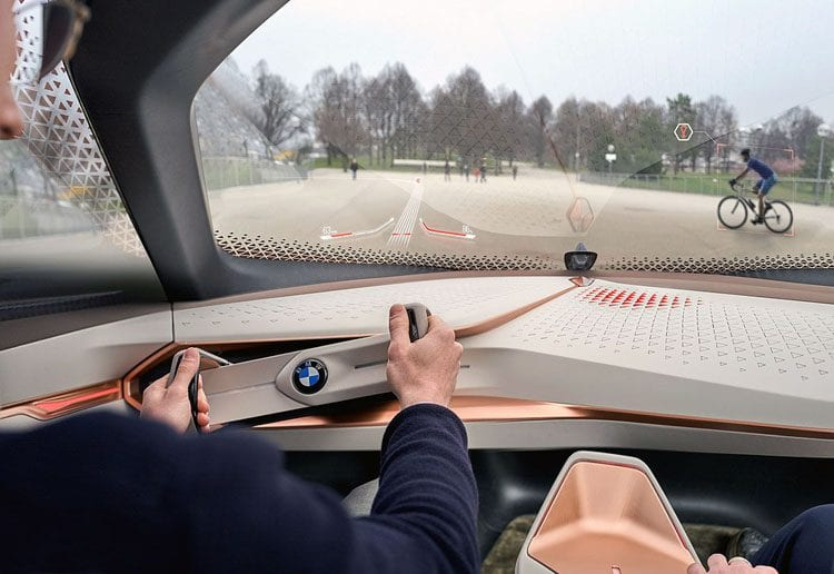 How BMW Imagines Car of the Future