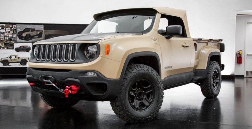 Jeep Renegade Trailhawk Lift >> Jeep Renegade Comanche Concept Price, Release date, Specs
