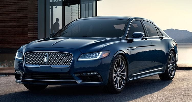 2017 lincoln continental price design specs. Black Bedroom Furniture Sets. Home Design Ideas