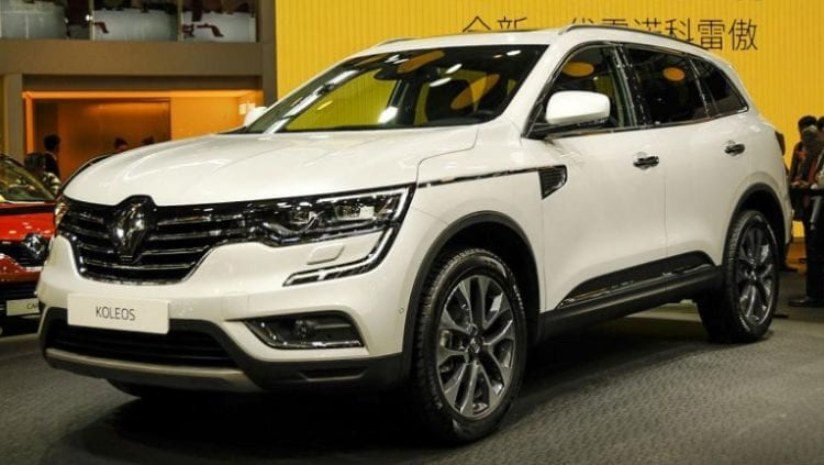 2017 renault koleos release date price specs. Black Bedroom Furniture Sets. Home Design Ideas