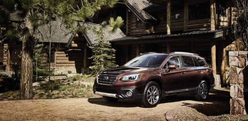 Subaru Unveiled Legacy and Outback Touring Models