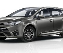 Toyota Refreshed Avensis for 2016