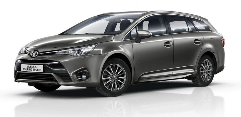 toyota refreshed avensis and auris for 2016 avensis and auris. Black Bedroom Furniture Sets. Home Design Ideas