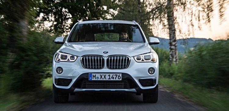 2016 BMW X1 front white