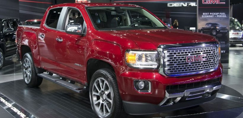 2017 gmc canyon denali price release date colors diesel. Black Bedroom Furniture Sets. Home Design Ideas