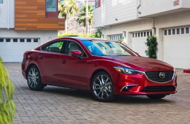 2017 mazda 6 arrives in the us start price and first photos. Black Bedroom Furniture Sets. Home Design Ideas
