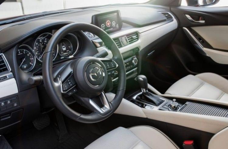 2017 Mazda 6 Interior