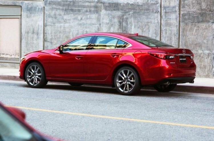 2017 Mazda 6 Side