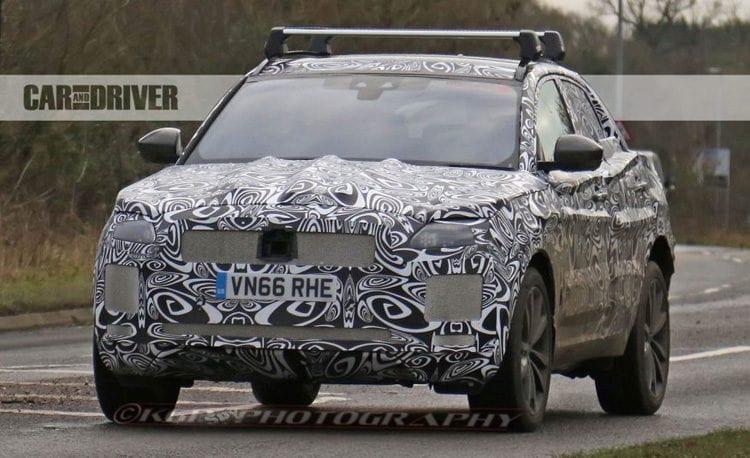 2018 Jaguar E-Pace Crossover