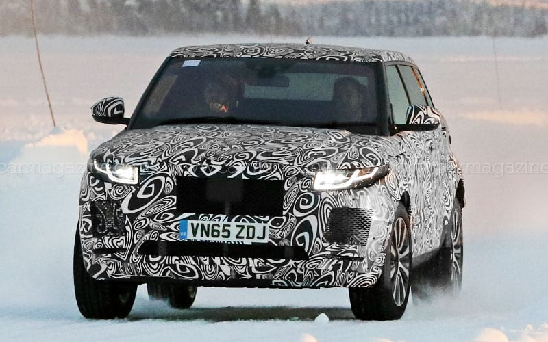 2018 Jaguar E-Pace Spy Shot