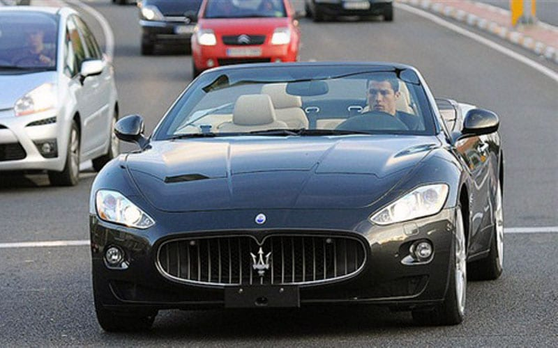 All The Cars Owned By Cristiano Ronaldo