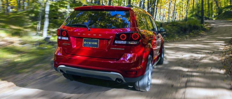 Dodge Journey rear view