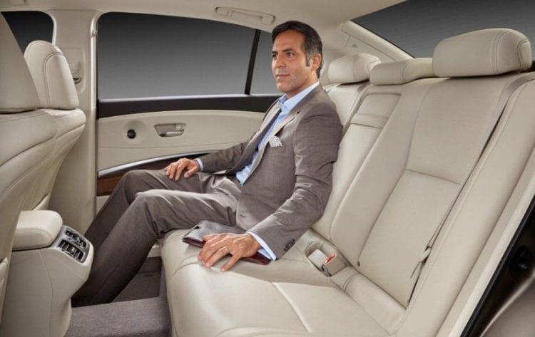 back interior - 2016 Acura RLX