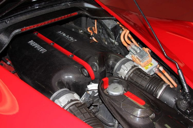 2014 Ferrari LaFerrari Engine