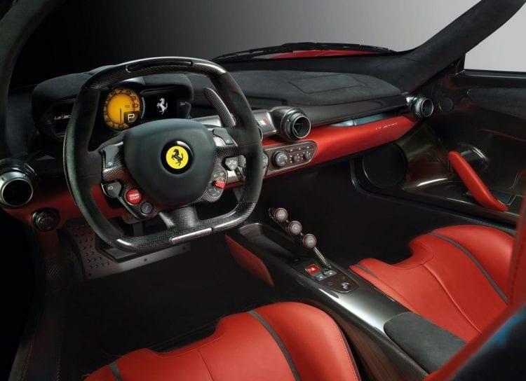2014 Ferrari LaFerrari Interior