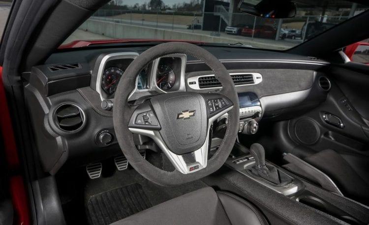 2014 Chevy Camaro Z/28 Interior