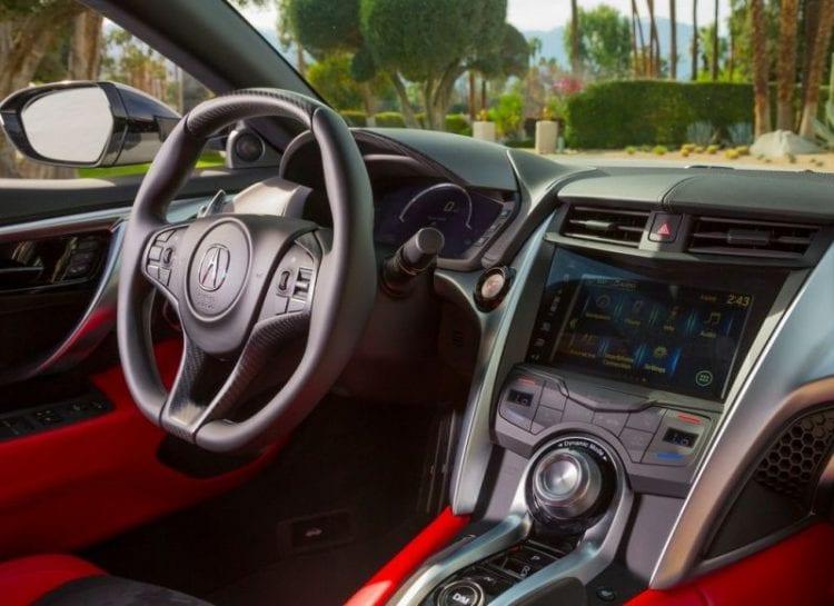 2016 NSX Acura Interior