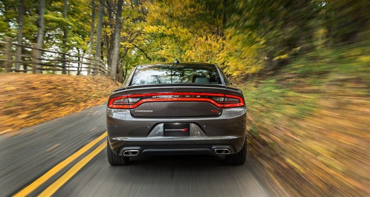 2016 Dodge Charger shown; Source: dodge.com