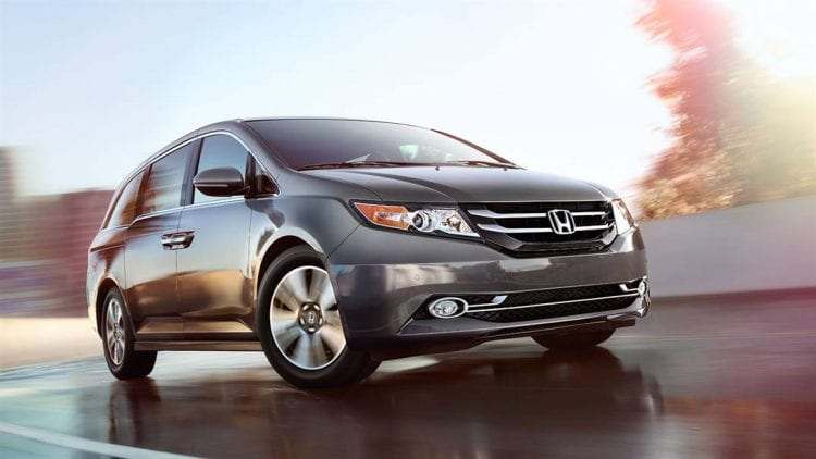 2016 Honda Odyssey shown; Source: automobiles.honda.com