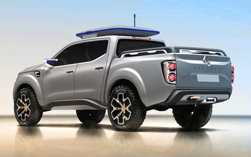Renault Alaskan Concept rear
