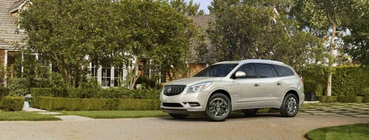 2017 Buick Enclave front side