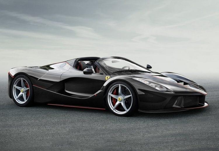 2017 Ferrari LaFerrari Spider Exterior